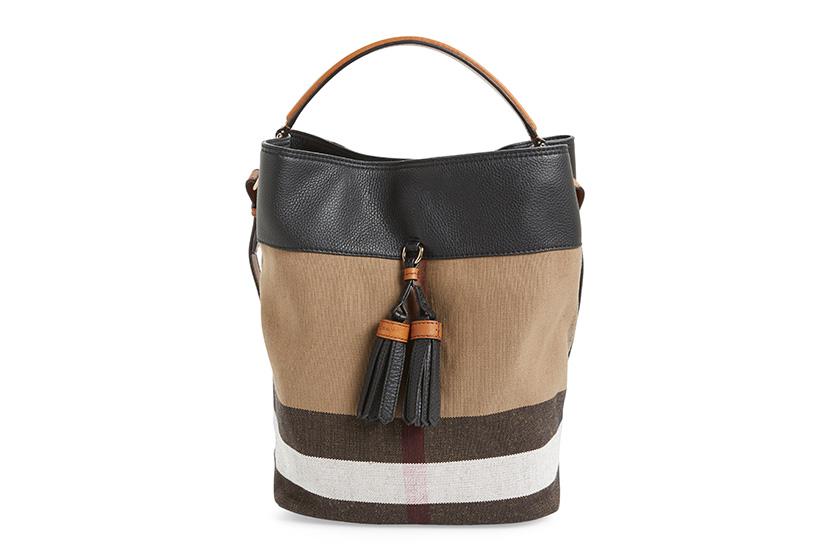 3be149417a Burberry 'Medium Susanna' Check Bucket Bag-edit | Montage Magazine