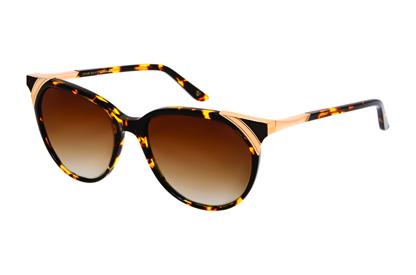 418cab9067f Leisure Society s titanium La Maddelena Cat-Eye Sunglasses