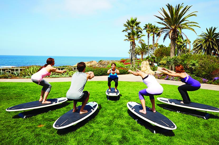 Surfset Winter Workout at Montage Laguna Beach