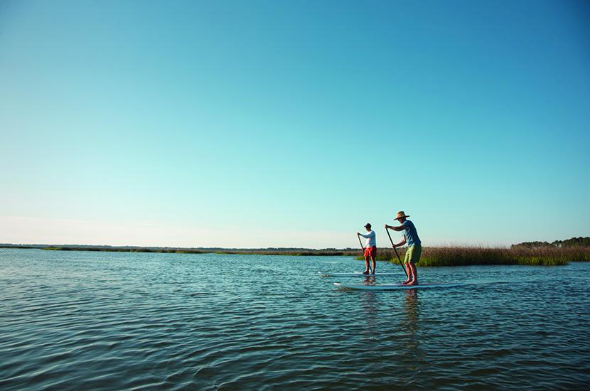 Montage Palmetto Bluff Paddle Boarding
