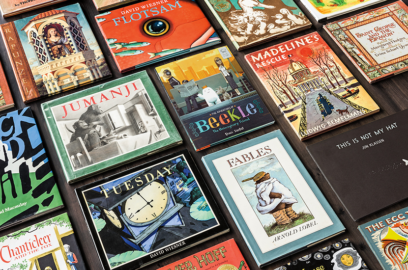 Neiman Marcus Fantasy Gift: Curated Collection of 36 Caldecott Medal-Winning Children's Books