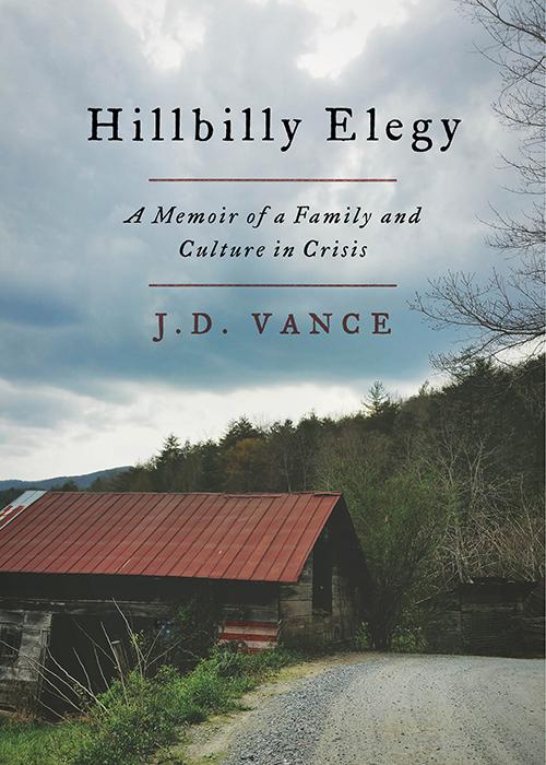 Hillbilly Elegy by J.D. Vance November Book Recommendation