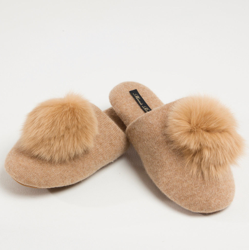 Minnie Rose Cashmere Slippers Holiday Gift Inspiration