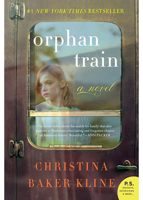 December Book Recommendation Orphan Train by Christina Baker Kline