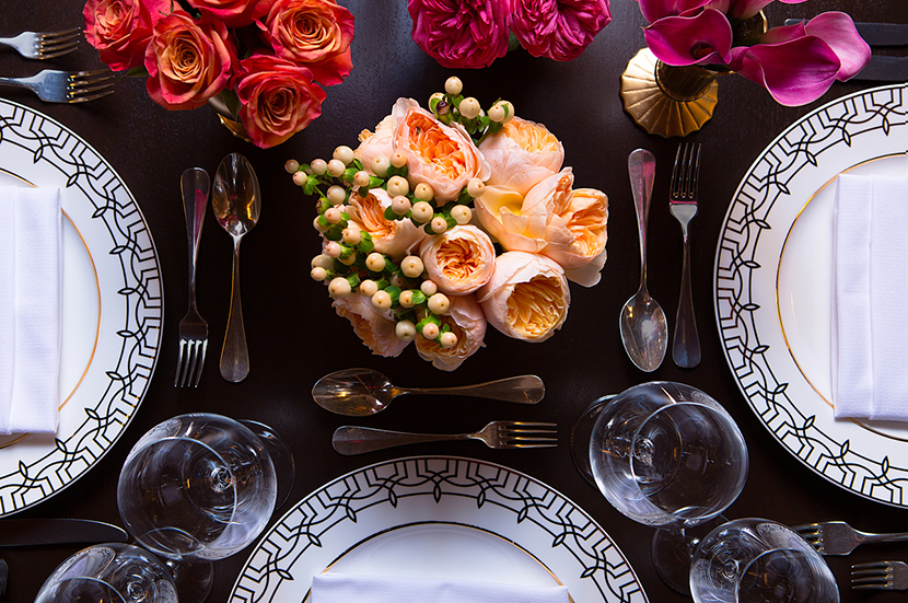 New Year's Eve Soiree Place Setting