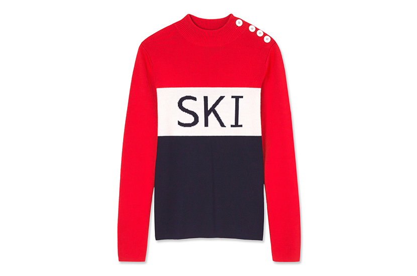 Chic Tory Sport Ski Sweater