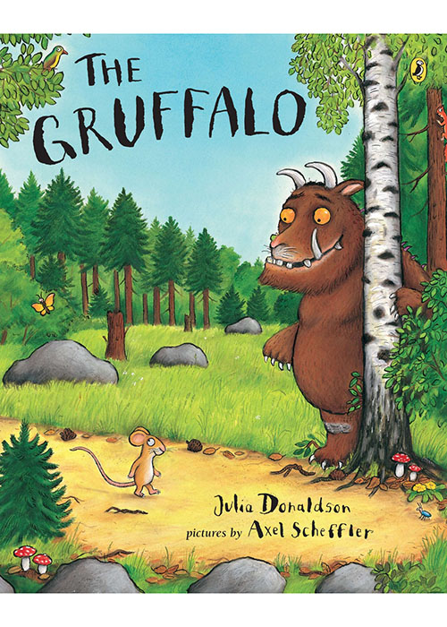 """The Gruffalo"" by Julia Donaldson; illustrated by Axel Scheffler"