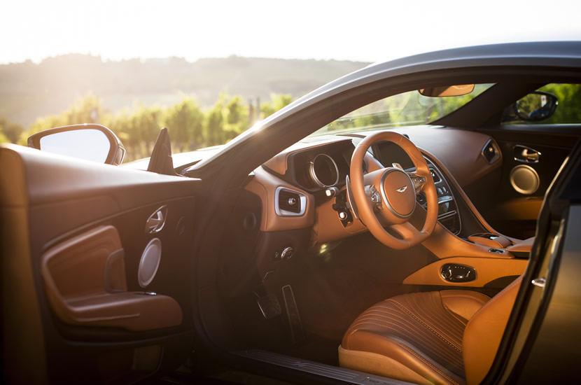 2017 Aston Martin DB11 Leather Interior