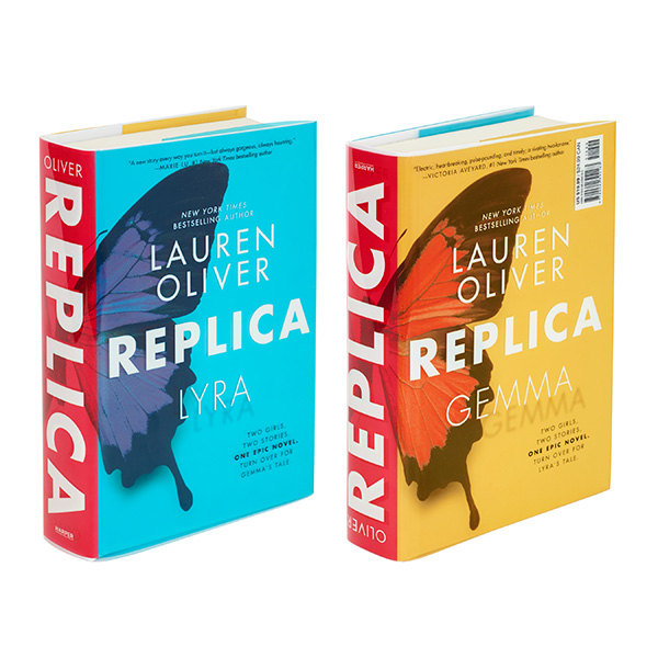 """Replica"" by Lauren Oliver"