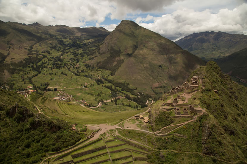 Sacred Valley of the Incas in Peru