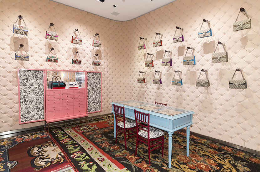 Interior Shoot at Gucci Beverly Hills
