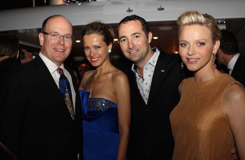 HSH Prince Albert II, Petra Nemcova, Nicholas Frankl, Princesss Charlene