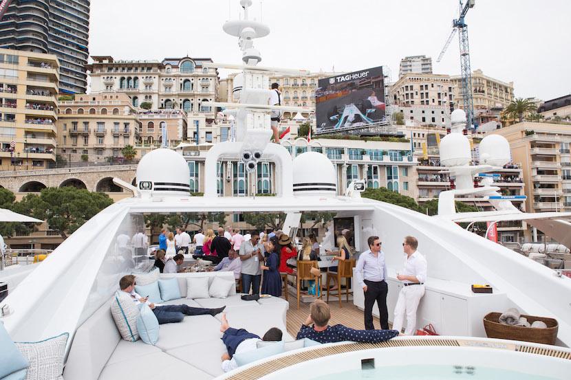 My Yacht Monaco - Top deck - Giant screen - Sunday F1