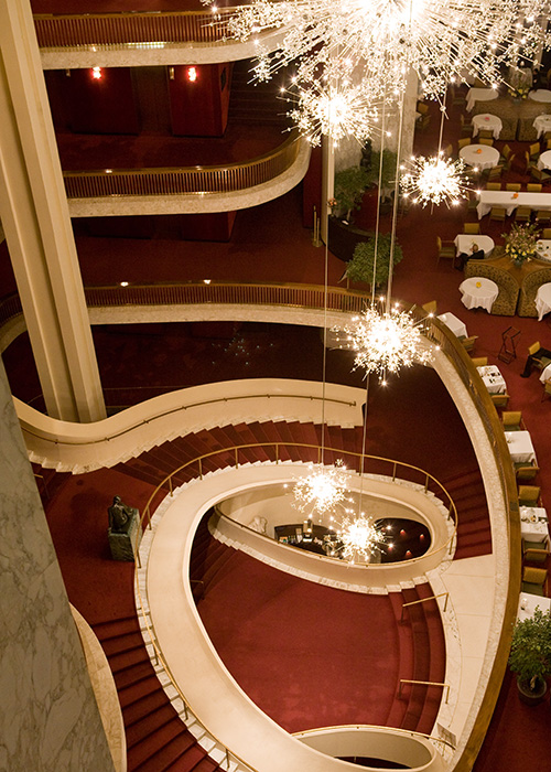 The auditorium of the Metropolitan Opera House in New York City. Photo: Marty Sohl/Metropolitan Opera