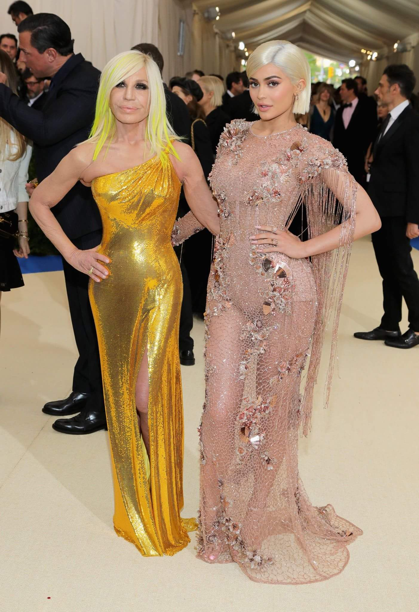 Donatella and Kylie