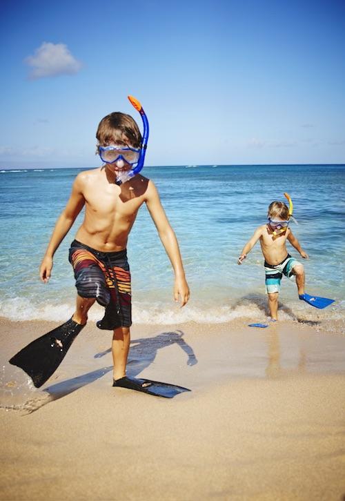 MKB-Lifestyle-Kapalua Bay Snorkeling-With Boys