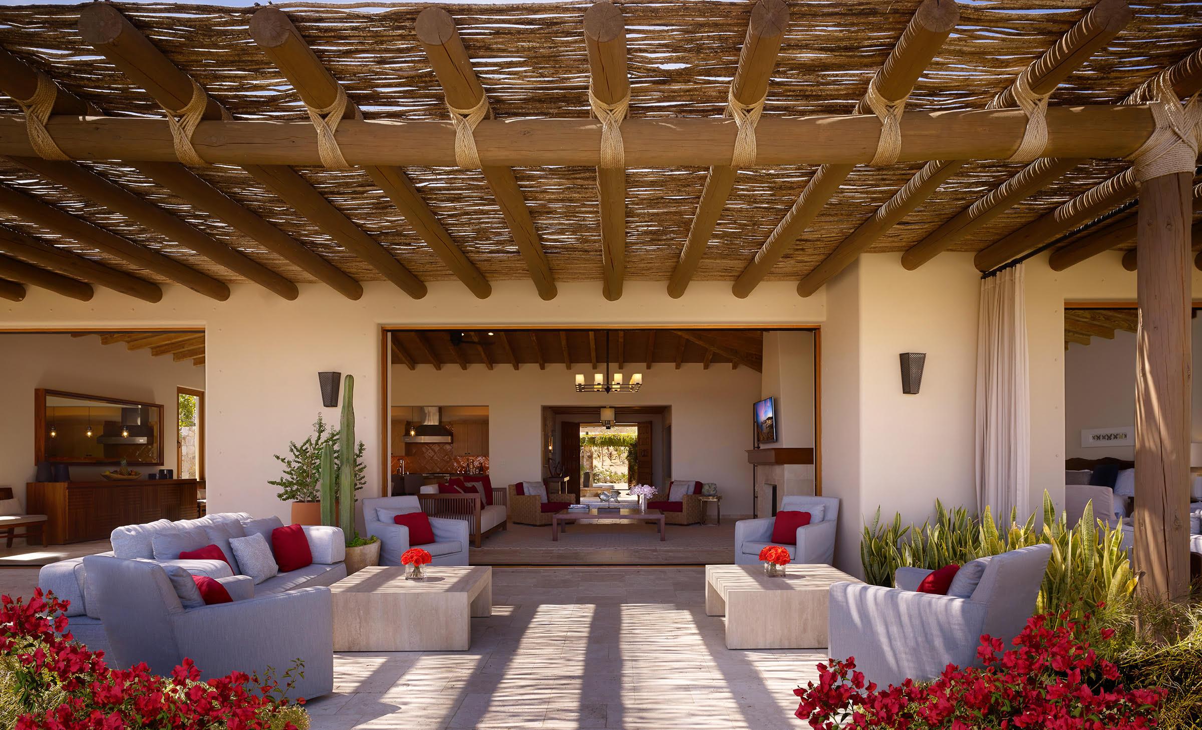 Montage Los Cabos Hacienda Patio