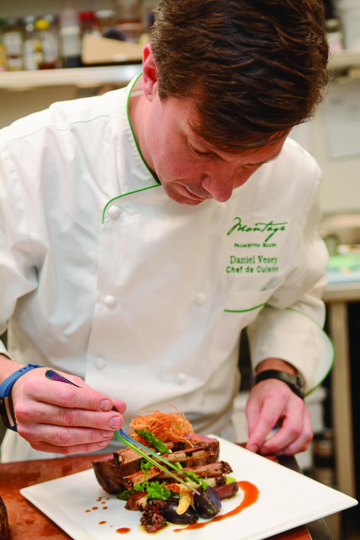 Chef de Cuisine Daniel Vesey